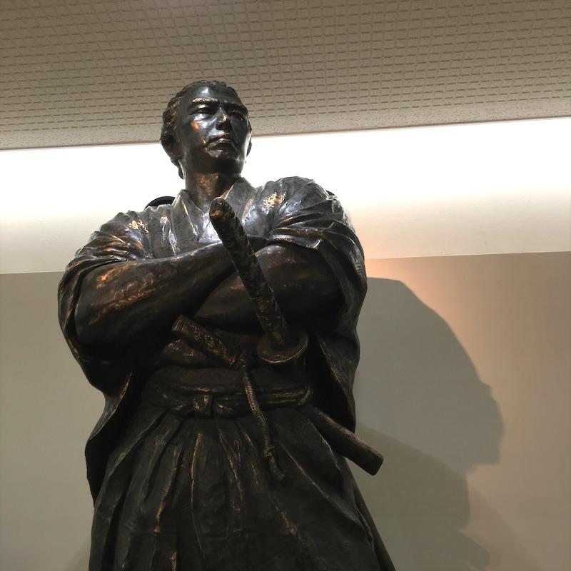 坂本龍馬像 長崎市 山崎和國