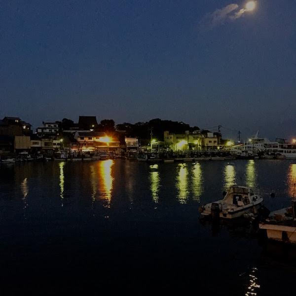 鞆の浦常夜燈あたりの船