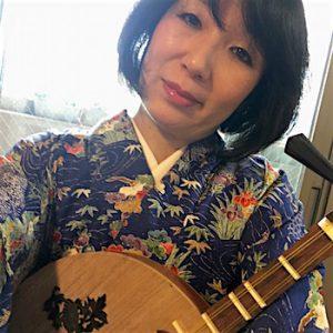 月琴奏者・永田斉子