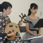 月琴で綴る龍馬の手紙@静岡市美術館公演