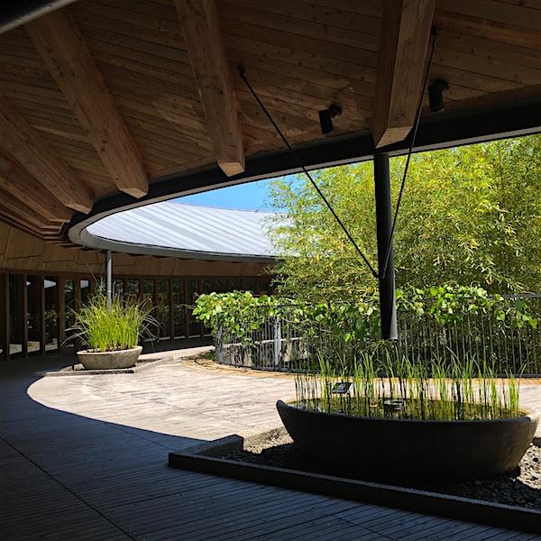 牧野植物園建築1