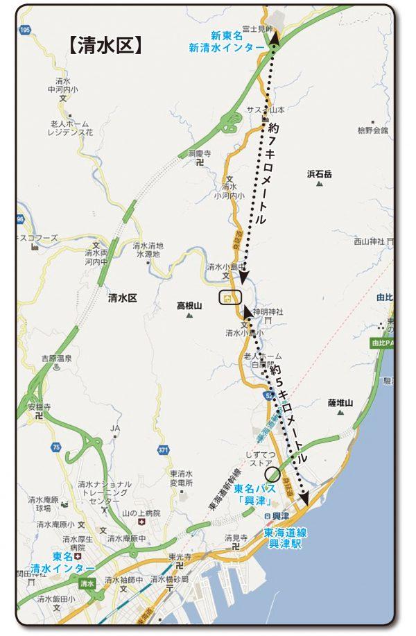 東壽院へのアクセス車の場合