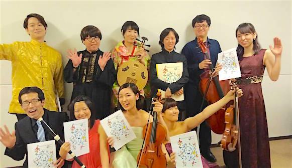 明清楽へのオマージュ「胡蝶」演奏メンバー